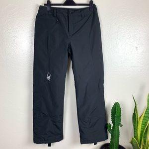 Spyder Black Ski Snowboard Pants 8
